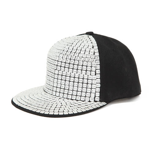 Studded Flat Bill Cap : E101