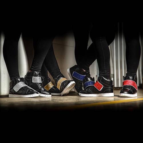 Glitter Strap Dance Sneaker : GLITTER