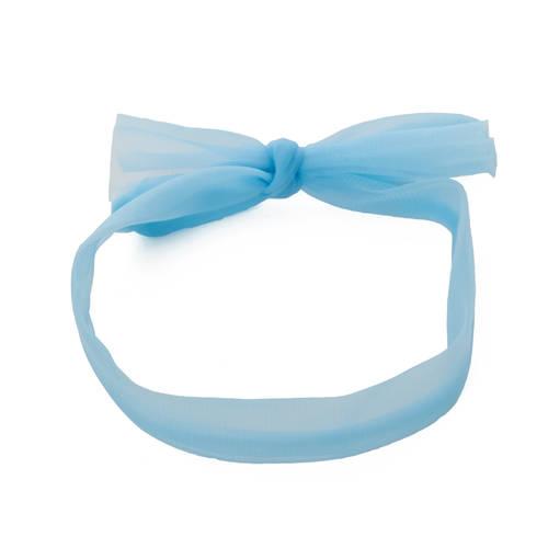 Serenade Blue Chiffon Hair Scarf : h0032