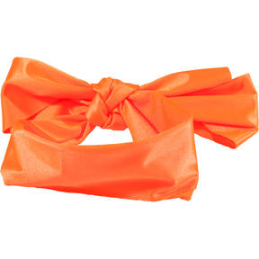 Neon Orange Lycra Hair Scarf