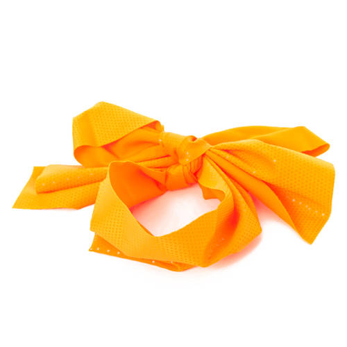 Neon Orange Hair Scarf : H0136