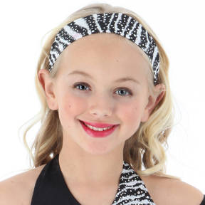 Narrow Zebra Headband