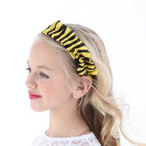 Bumble Bee Ruffled Headband