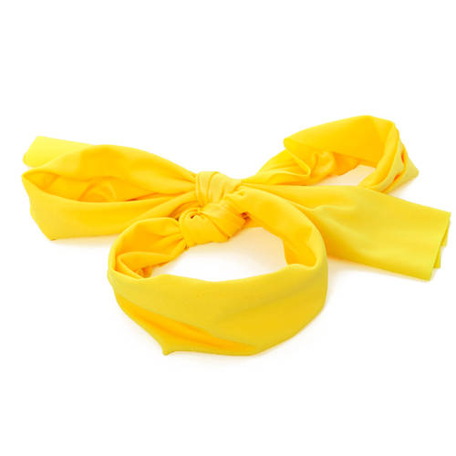Yellow Lycra Hairscarf : H0167