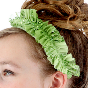 Green Lyrical Headband