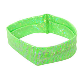 Lime Hologram Headband