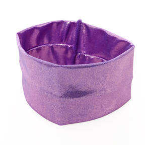 Narrow Lilac Fog Foil Headband