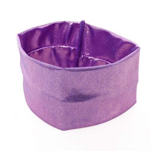Narrow Lilac Fog Foil Headband : H0184