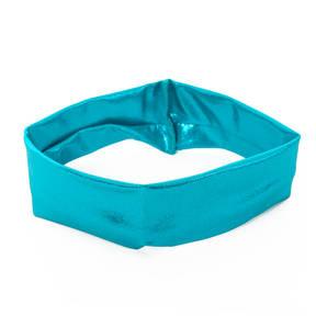 Turquoise Foil Headband
