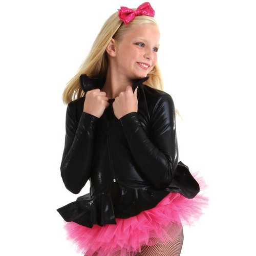 Alexandra Youth Peplum Jacket : JG124