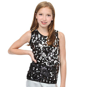 Youth Sequin Tank Tunic