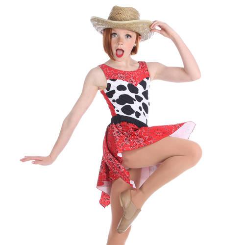 Paisley Cowgirl Leotard : K170