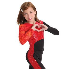 Girls Heartbreaker Leotard