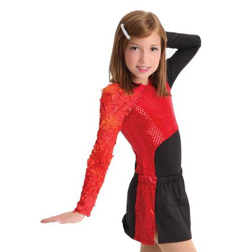 Girls Heatbreaker Leotard : M136C