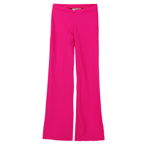 Youth Pink V-Waist Flared Jazz Pant