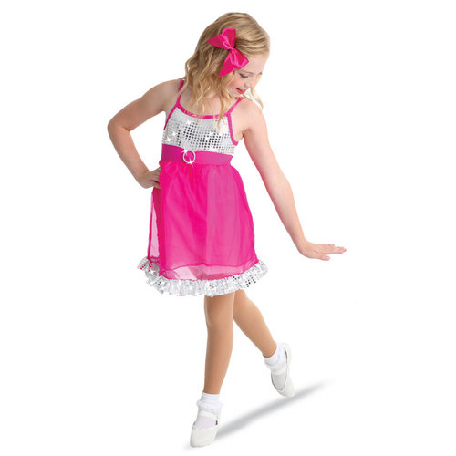 Clearance - Girls Pretty Pink Dress | Just For Kix