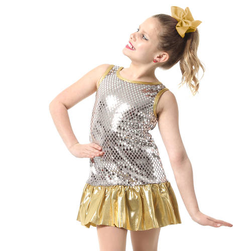 Musicology Sequin Dance Costume Dress : M274