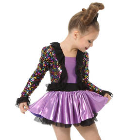 Uptown Girl Skirted Leotard