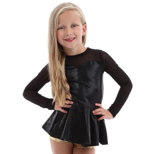 Youth Sweetheart Peplum Long Sleeve Top : M550C