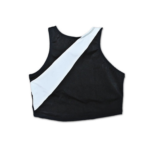 Color Block Crop Top : M561