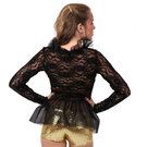 Youth Lace Peplum Jacket : M575C