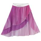 Girls Overlap Skirt : M598C