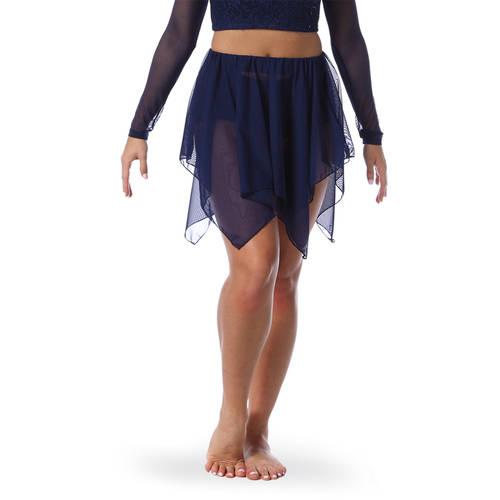 Handkerchief Mesh Skirt : M735