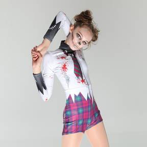 Zombie Schoolgirl Biketard