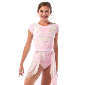 Garden of Eden Cap Sleeve Leotard