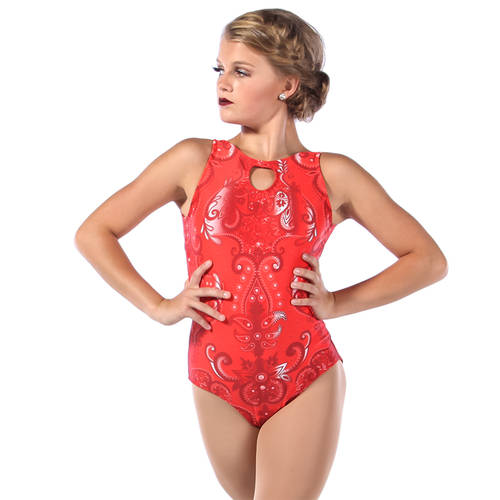 Candlelight Keyhole Tank Leotard : MD5149
