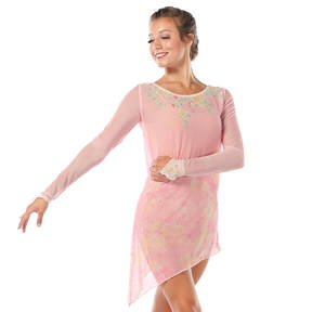 Garden of Eden Long Sleeve Mesh Dress