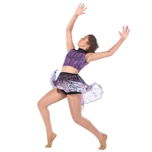 Unsteady Multi Color Stripe Skirt : MD5186