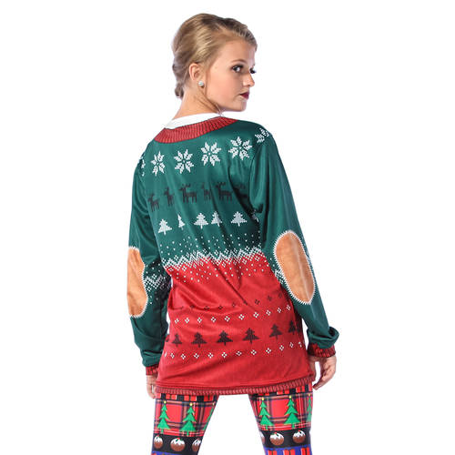 Ugly Sweater Long Sleeve Tee : MD5249