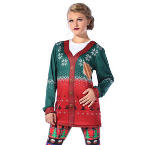 Ugly Sweater Long Sleeve Tee