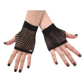 Fishnet Dance Gloves