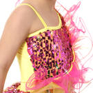Youth It's A Party Sequin Skirted Leotard : S035C