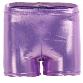 Purple Metallic Short