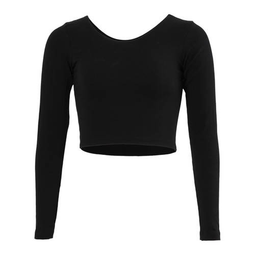 American Apparel Long Sleeve Crop Top : 8379