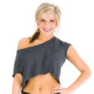 Oversized Loose Dance Crop Tee : BB380