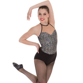Iridescent Sequin Leotard
