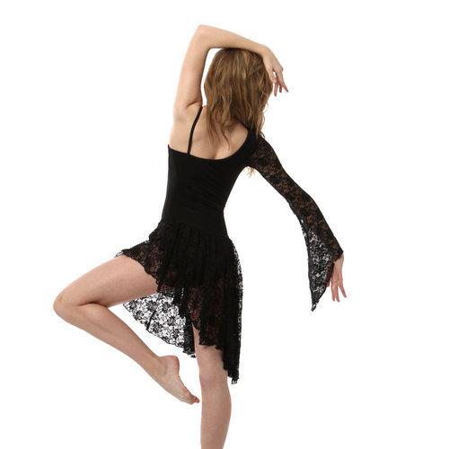 Body Wrappers Asymmetrical Dress : 7998