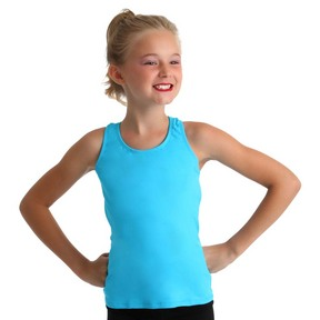 Body Wrappers Youth Racerback Pullover Tank