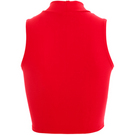 Youth Mock Neck Crop Top : BWP063