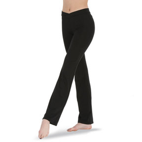 Girls Body Wrappers V-Front Jazz Pant