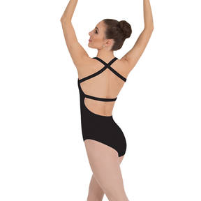 Cross-Back Tank Leotard