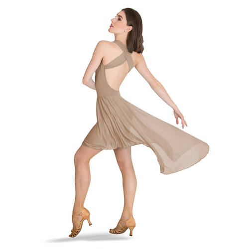 Cross-Strap Low Back Dress : P1220