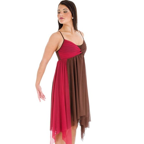 Body Wrappers Layered Dress : P714