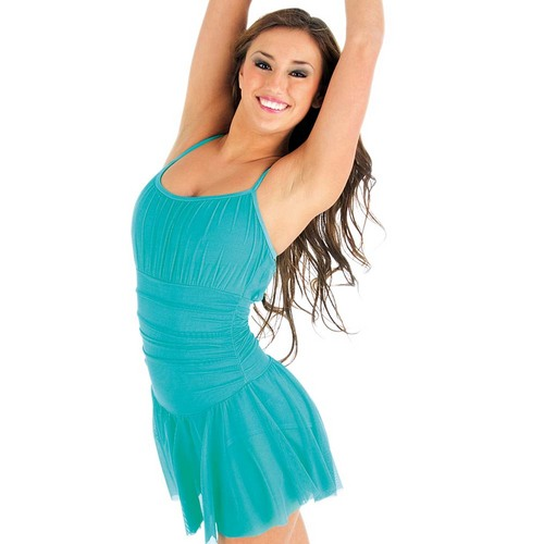 Body Wrappers Skirted Leotard : P735