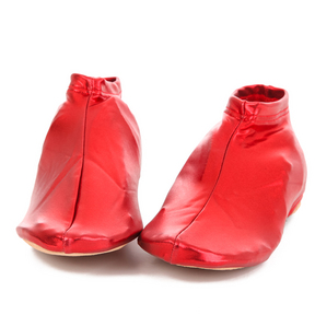Metallic Shoe Wraps
