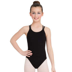 Capezio Youth Double Strap Leotard